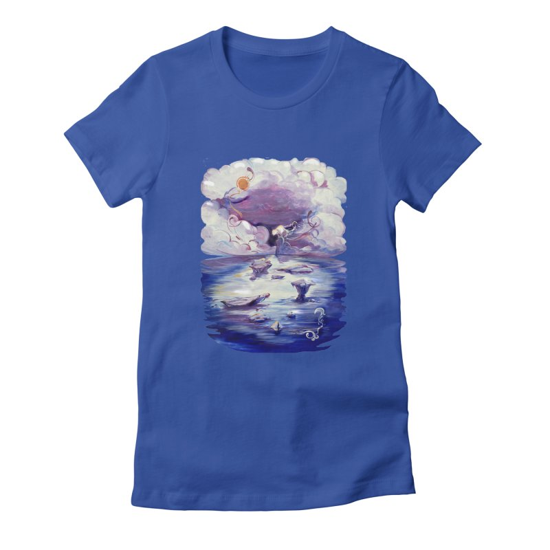 Polar Women's Fitted T-Shirt by NIKARNOLDI