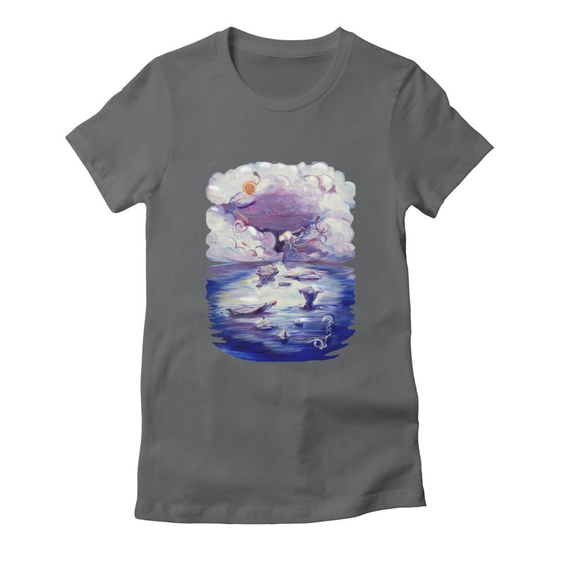 Polar Women's Fitted T-Shirt by NIKARNOLDI.art