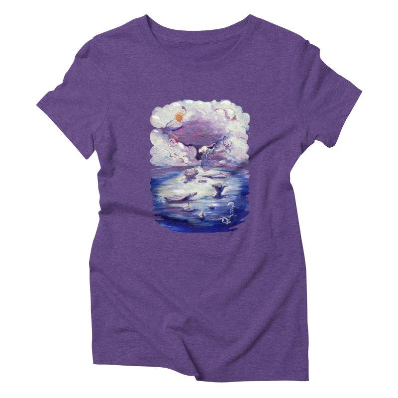 Polar Women's Triblend T-shirt by NIKARNOLDI.art