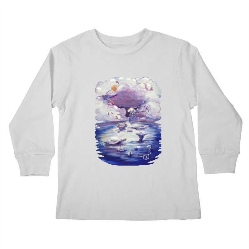 Polar Kids Longsleeve T-Shirt by NIKARNOLDI.art