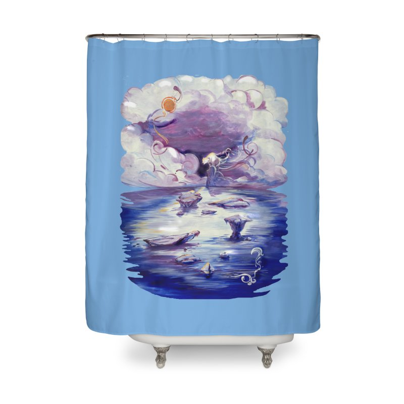Polar Home Shower Curtain by NIKARNOLDI.art
