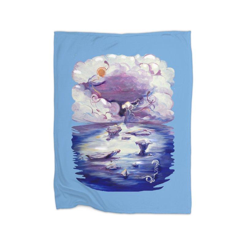 Polar Home Blanket by NIKARNOLDI.art