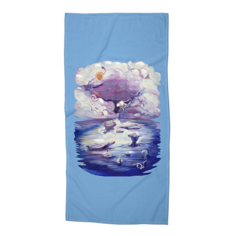 Polar Accessories Beach Towel by NIKARNOLDI.art