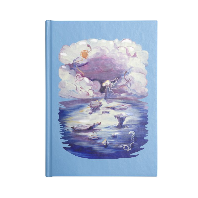 Polar Accessories Lined Journal Notebook by NIKARNOLDI