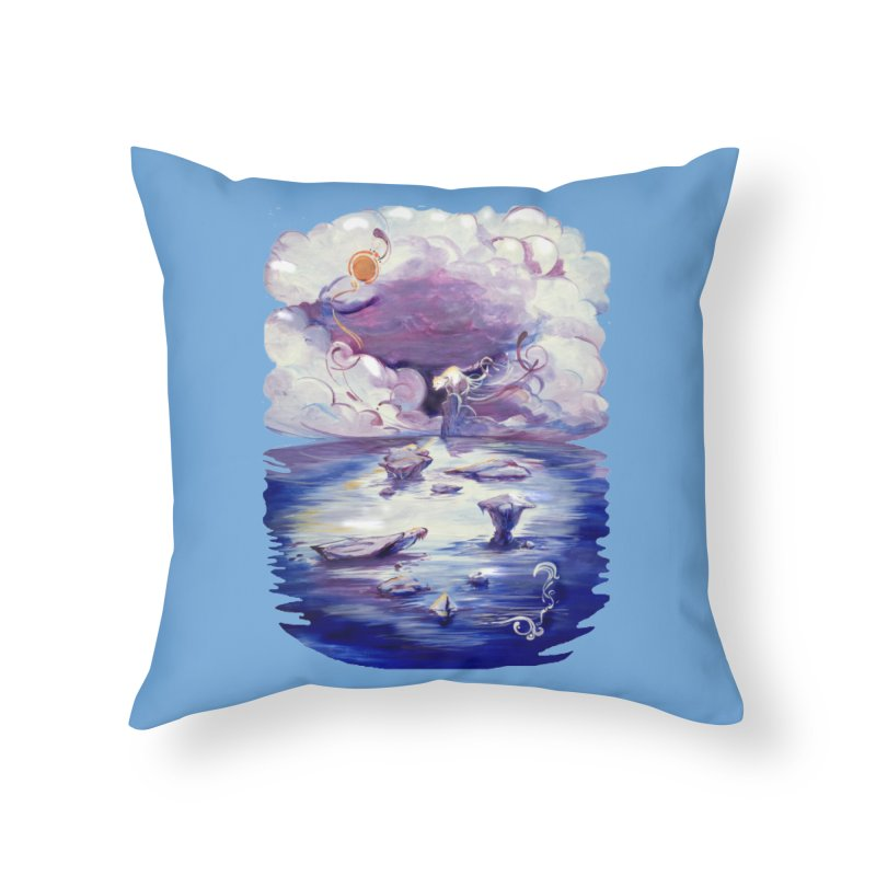 Polar Home Throw Pillow by NIKARNOLDI.art