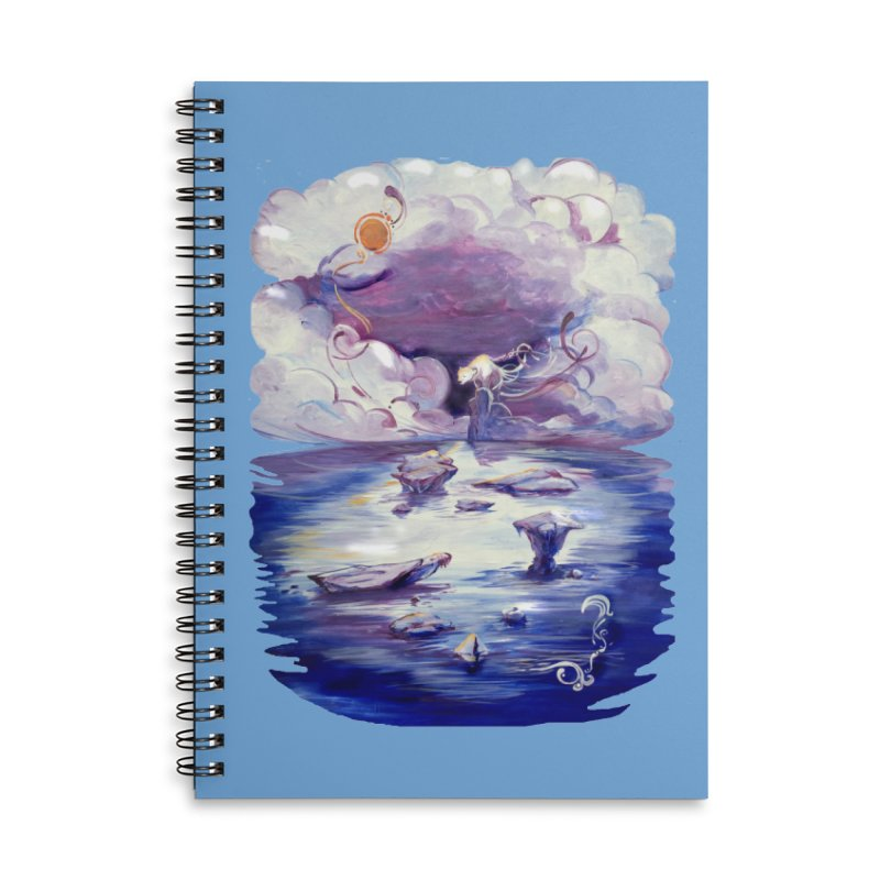 Polar Accessories Lined Spiral Notebook by NIKARNOLDI
