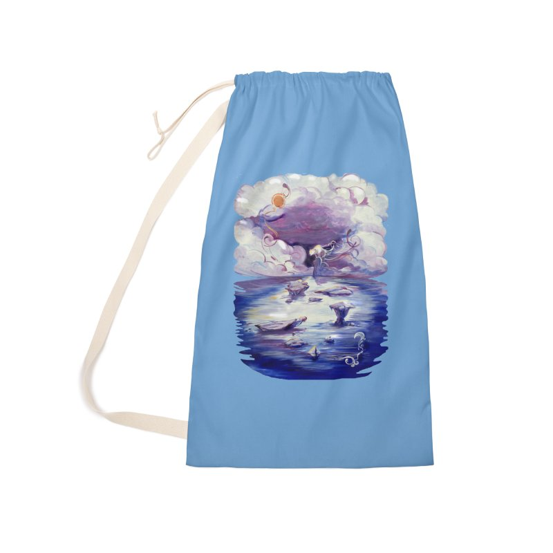 Polar Accessories Laundry Bag Bag by NIKARNOLDI