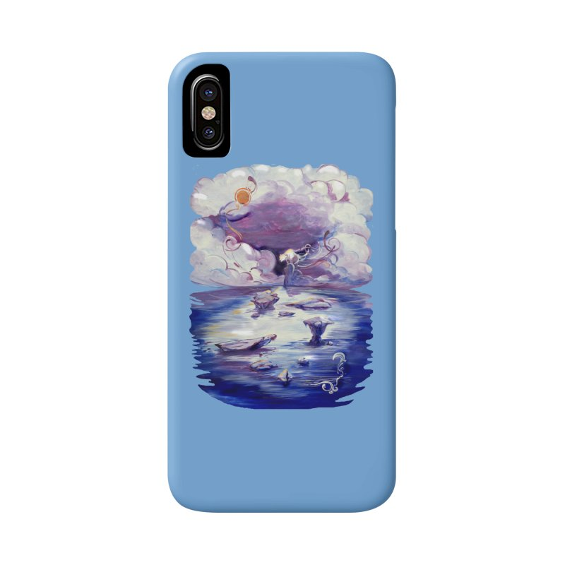 Polar Accessories Phone Case by NIKARNOLDI.art
