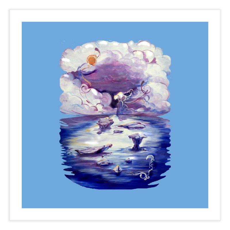 Polar Home Fine Art Print by NIKARNOLDI