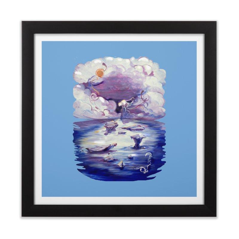 Polar Home Framed Fine Art Print by NIKARNOLDI.art