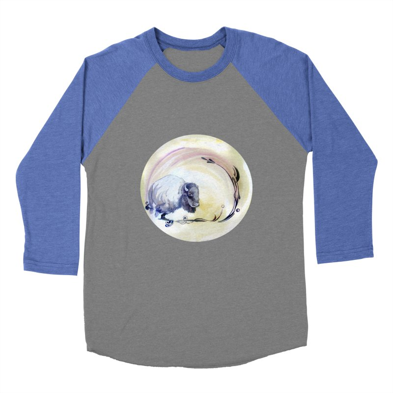 Plains Women's Baseball Triblend T-Shirt by NIKARNOLDI.art