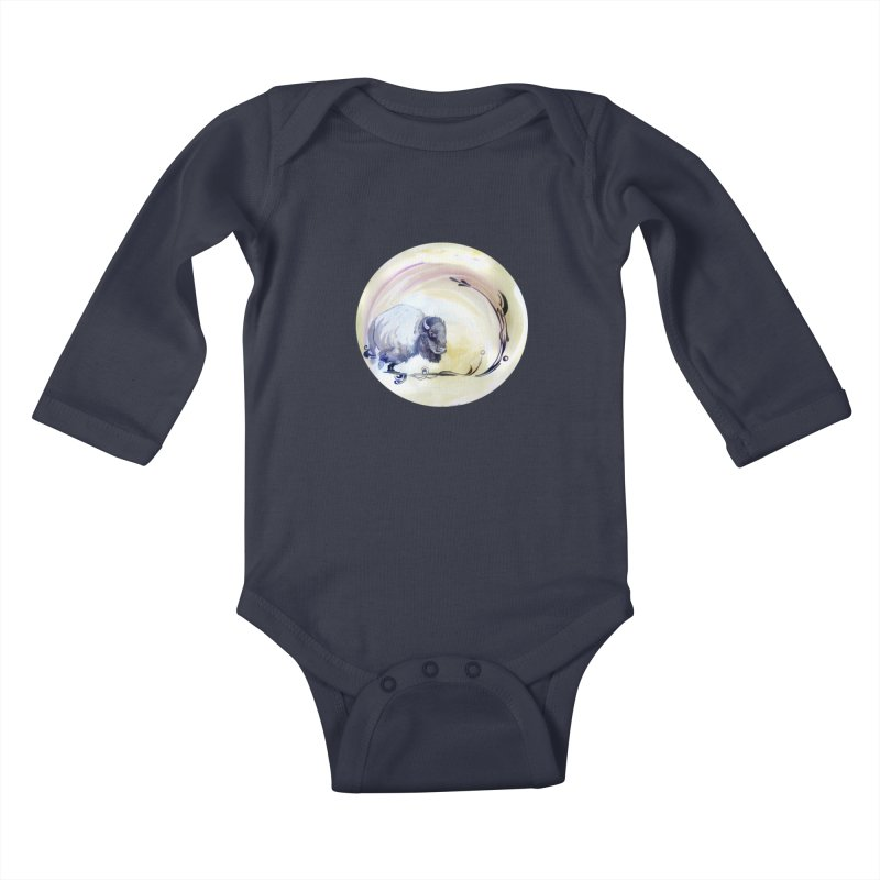 Plains Kids Baby Longsleeve Bodysuit by NIKARNOLDI.art
