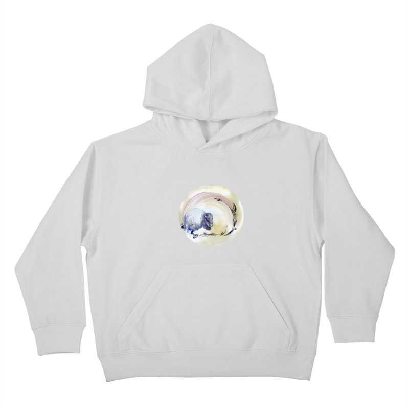 Plains Kids Pullover Hoody by NIKARNOLDI.art