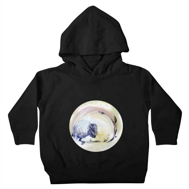 Plains Kids Toddler Pullover Hoody by NIKARNOLDI.art