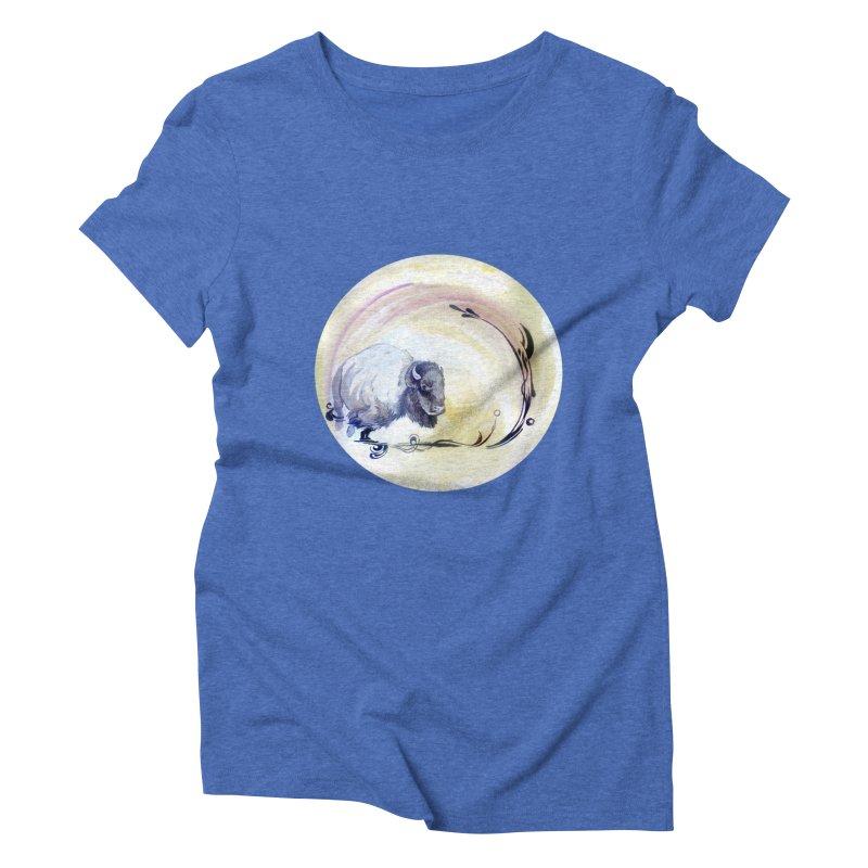 Plains Women's Triblend T-Shirt by NIKARNOLDI.art