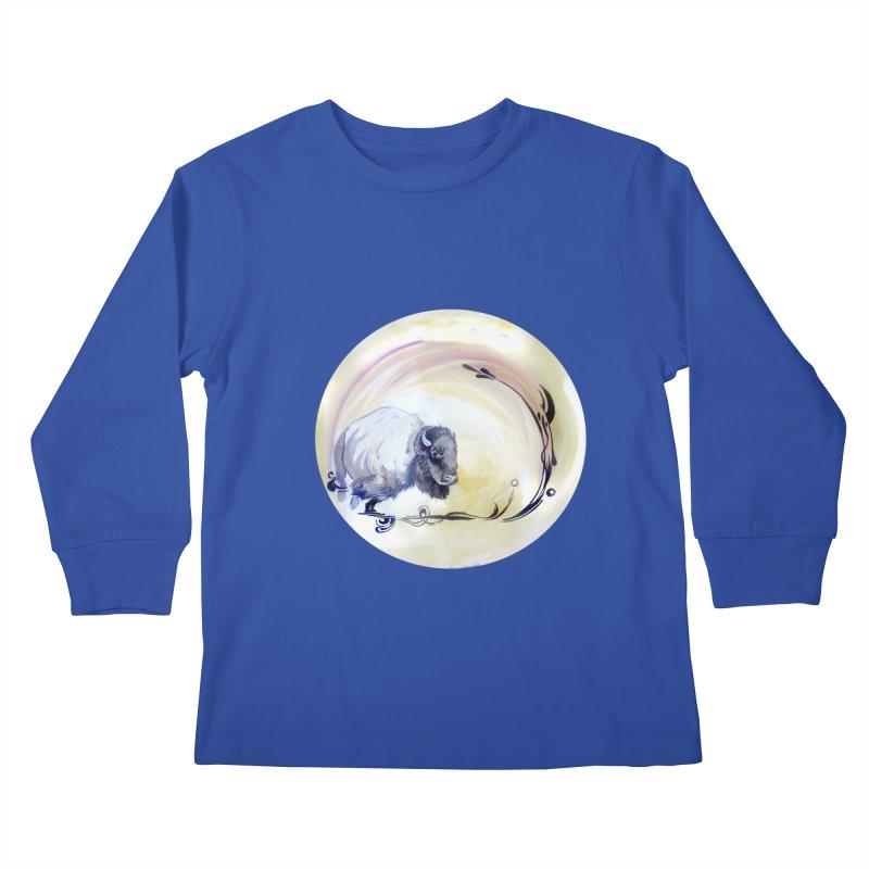 Plains Kids Longsleeve T-Shirt by NIKARNOLDI.art