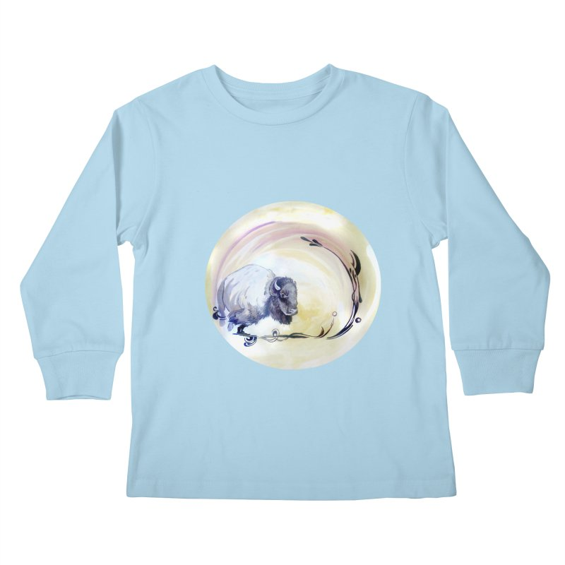 Plains Kids Longsleeve T-Shirt by NIKARNOLDI.art