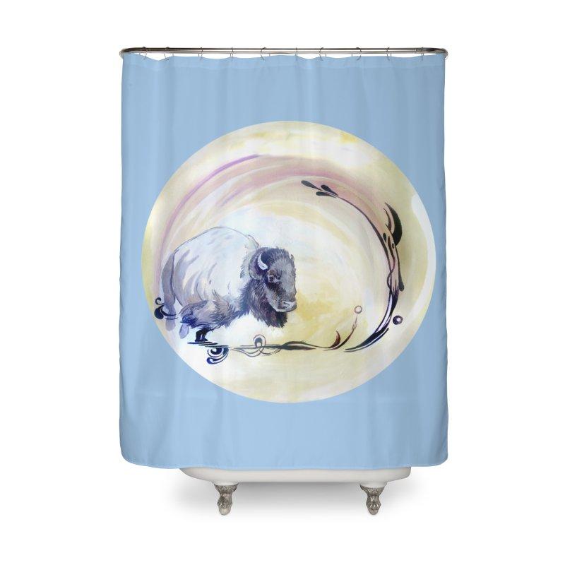 Plains Home Shower Curtain by NIKARNOLDI.art