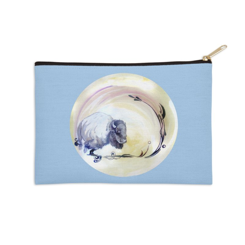 Plains Accessories Zip Pouch by NIKARNOLDI.art