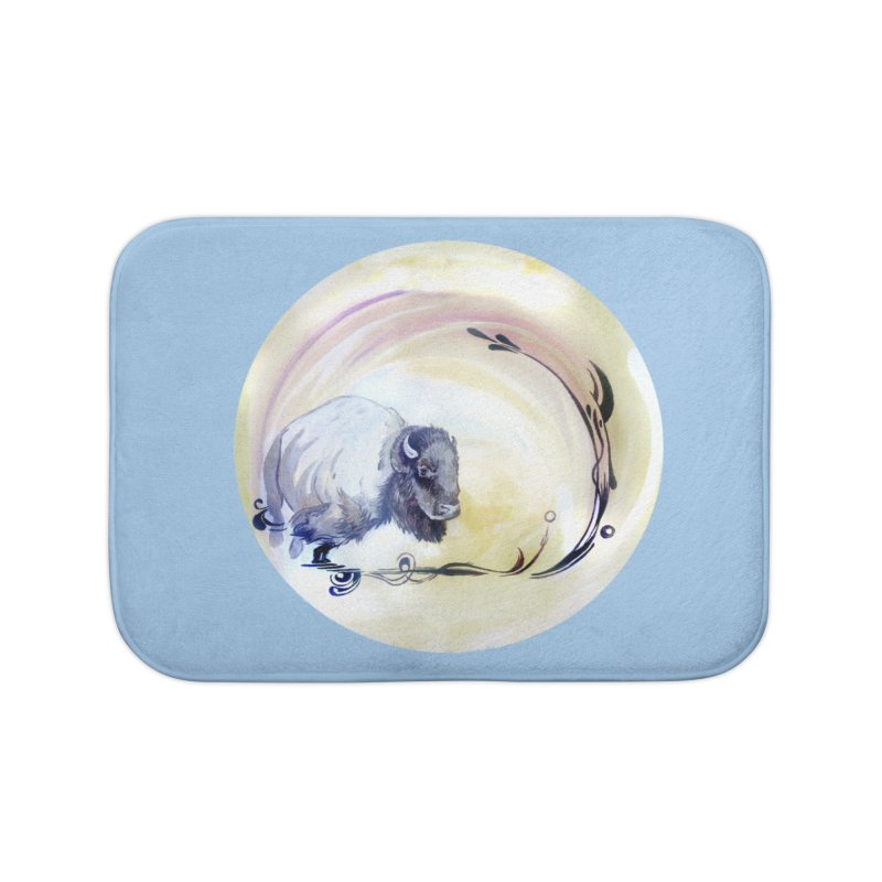 Plains Home Bath Mat by NIKARNOLDI.art