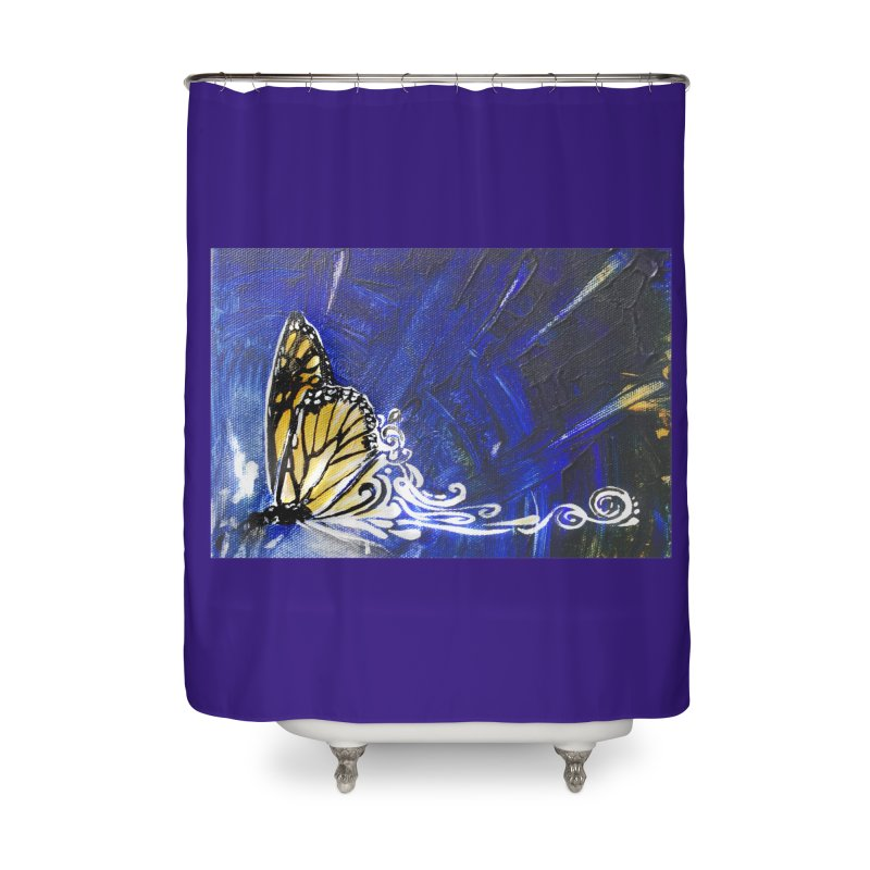 Royalty Home Shower Curtain by NIKARNOLDI.art