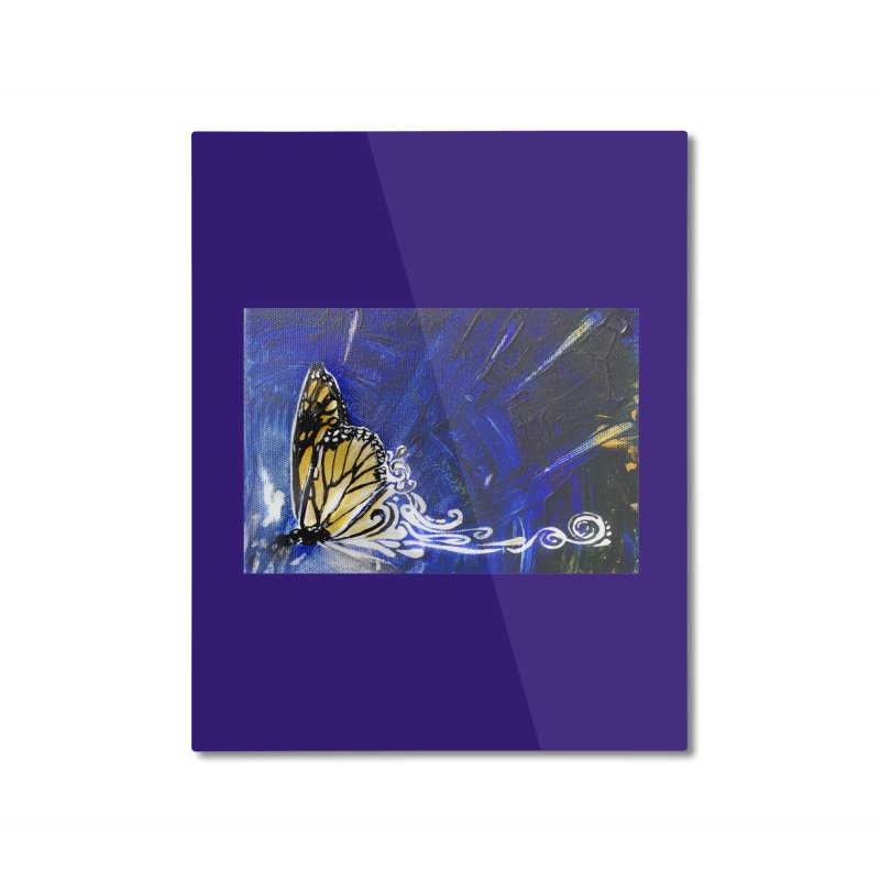 Royalty Home Mounted Aluminum Print by NIKARNOLDI