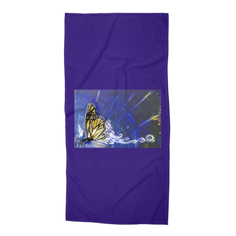 Royalty Accessories Beach Towel by NIKARNOLDI.art