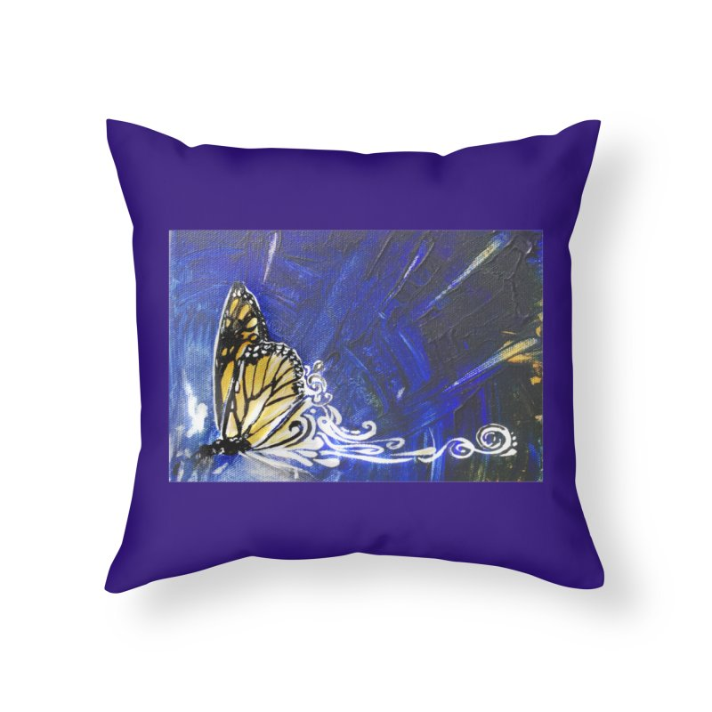 Royalty Home Throw Pillow by NIKARNOLDI