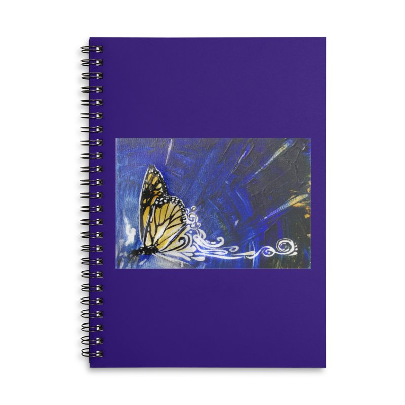 Royalty Accessories Lined Spiral Notebook by NIKARNOLDI