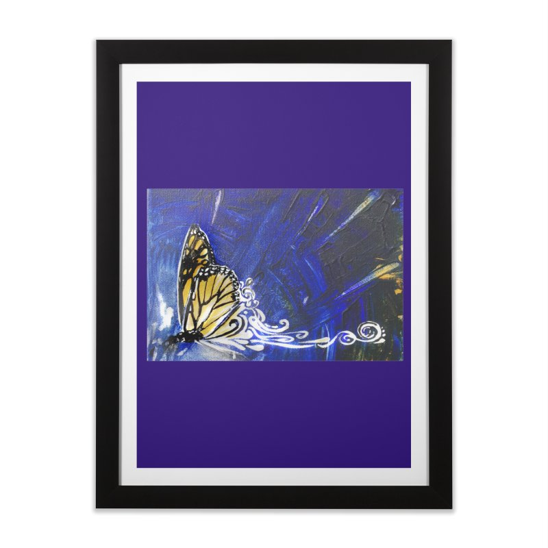 Royalty Home Framed Fine Art Print by NIKARNOLDI