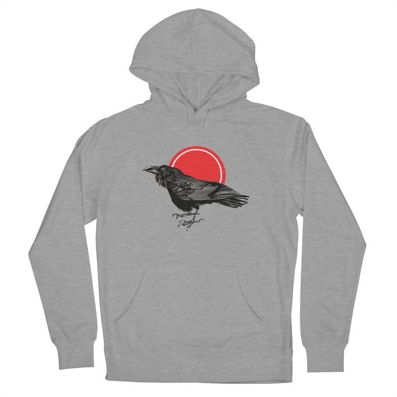 Raven Men's French Terry Pullover Hoody by NIKARNOLDI