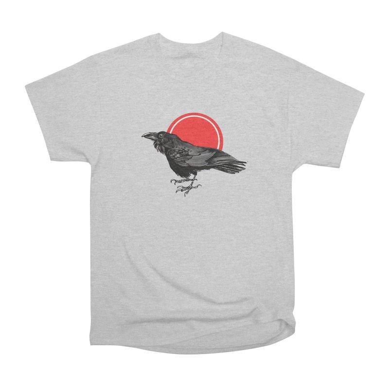 Raven Men's T-Shirt by NIKARNOLDI