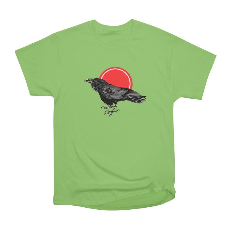 Raven Women's Heavyweight Unisex T-Shirt by NIKARNOLDI