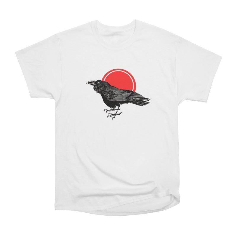 Raven Women's Heavyweight Unisex T-Shirt by NIKARNOLDI.art