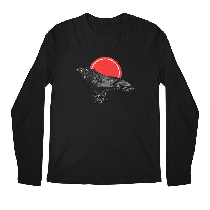 Raven Men's Longsleeve T-Shirt by NIKARNOLDI.art
