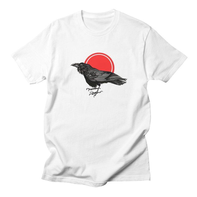 Raven Men's Regular T-Shirt by NIKARNOLDI