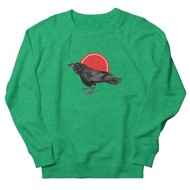 Raven Men's French Terry Sweatshirt by NIKARNOLDI.art