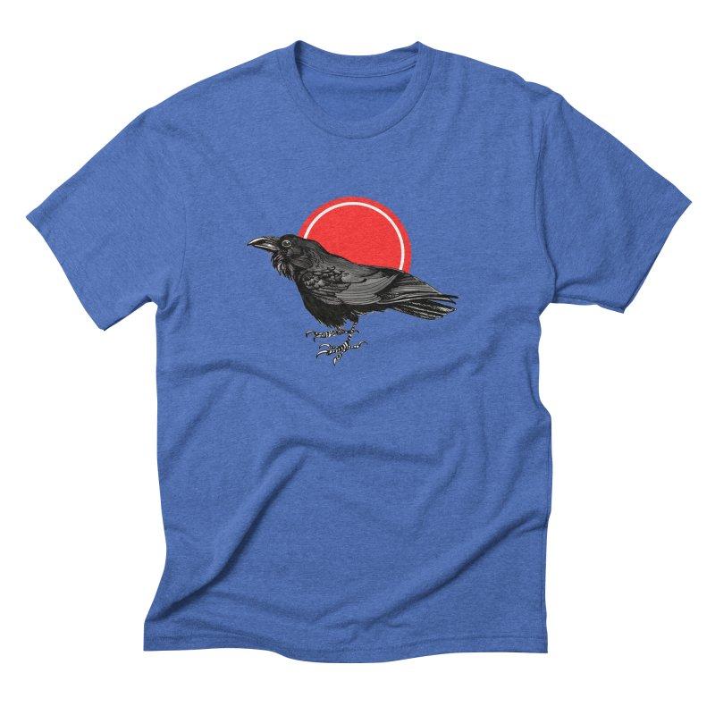 Raven Men's Triblend T-Shirt by NIKARNOLDI.art