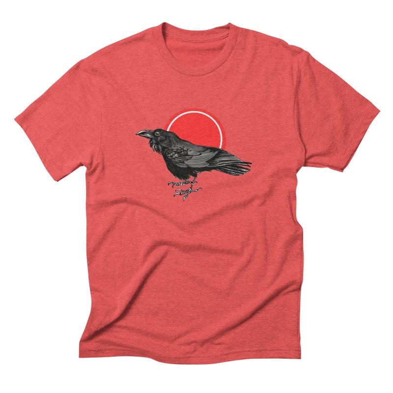 Raven Men's Triblend T-Shirt by NIKARNOLDI