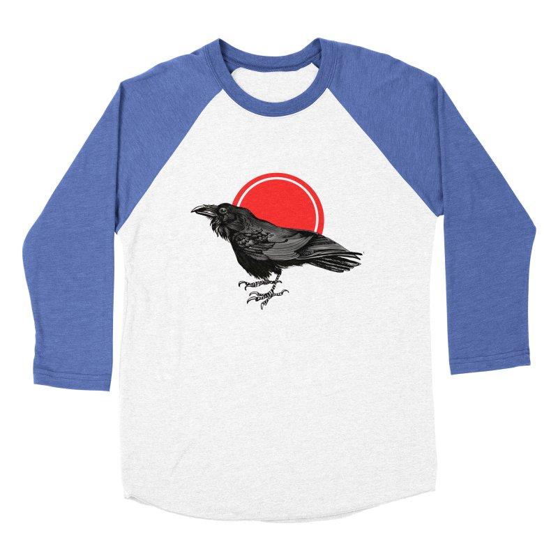 Raven Women's Baseball Triblend T-Shirt by NIKARNOLDI.art