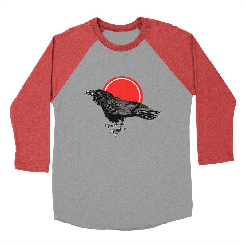 Raven Women's Baseball Triblend Longsleeve T-Shirt by NIKARNOLDI.art