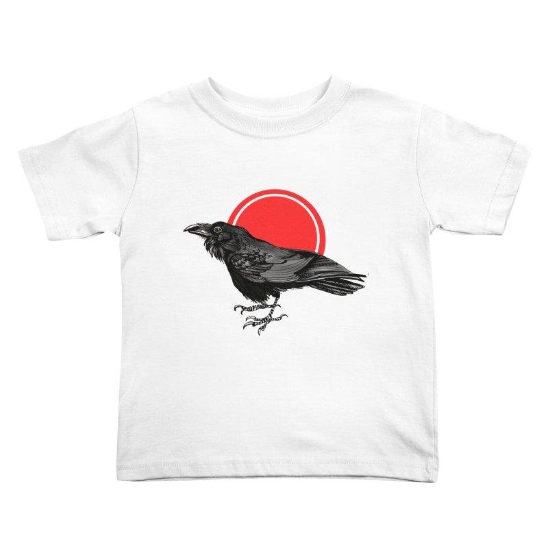 Raven Kids Toddler T-Shirt by NIKARNOLDI.art