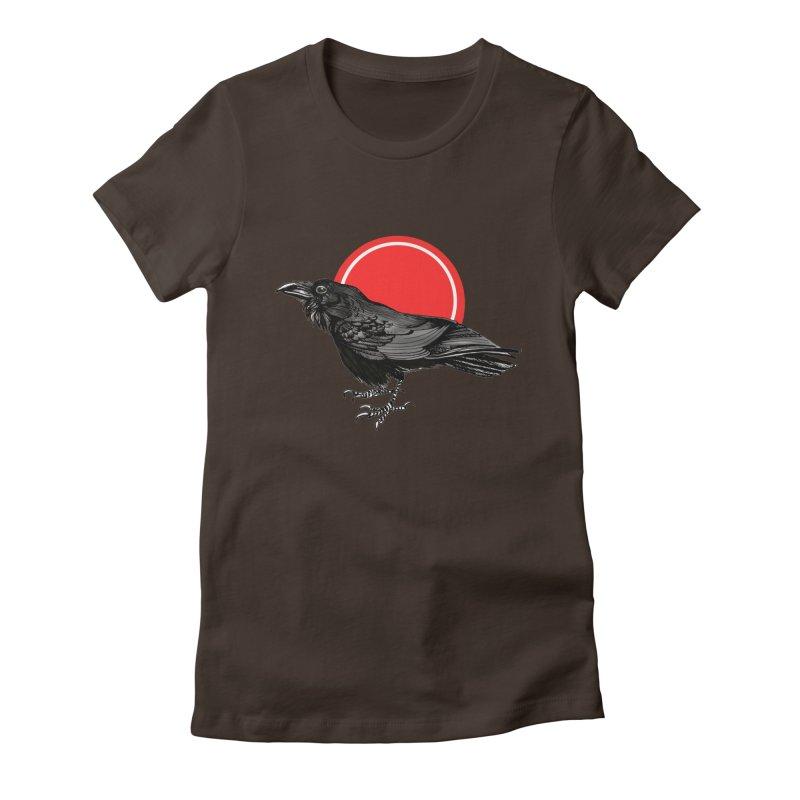 Raven Women's T-Shirt by NIKARNOLDI