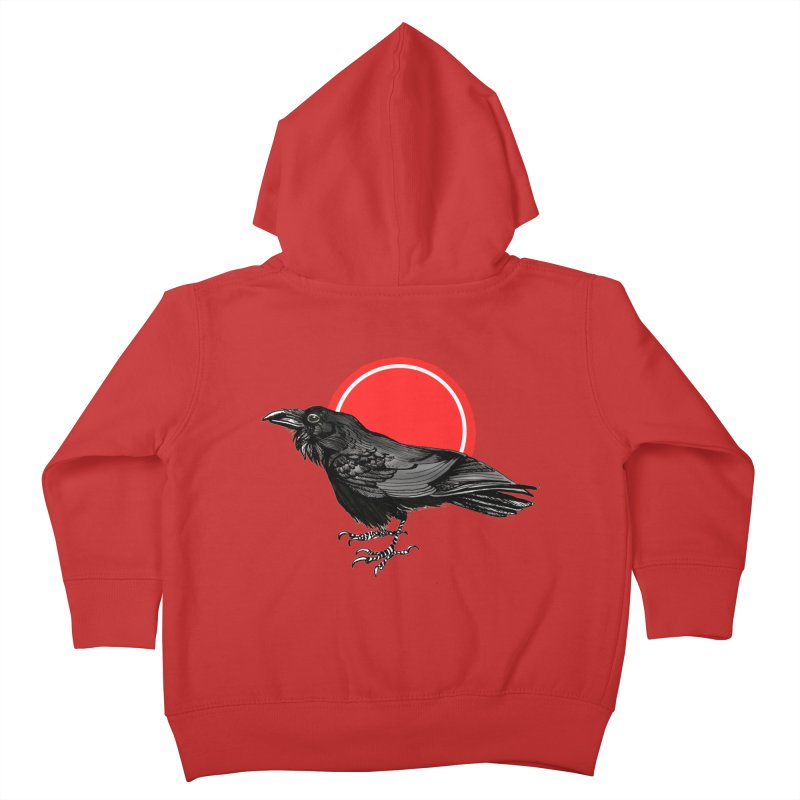 Raven Kids Toddler Zip-Up Hoody by NIKARNOLDI.art