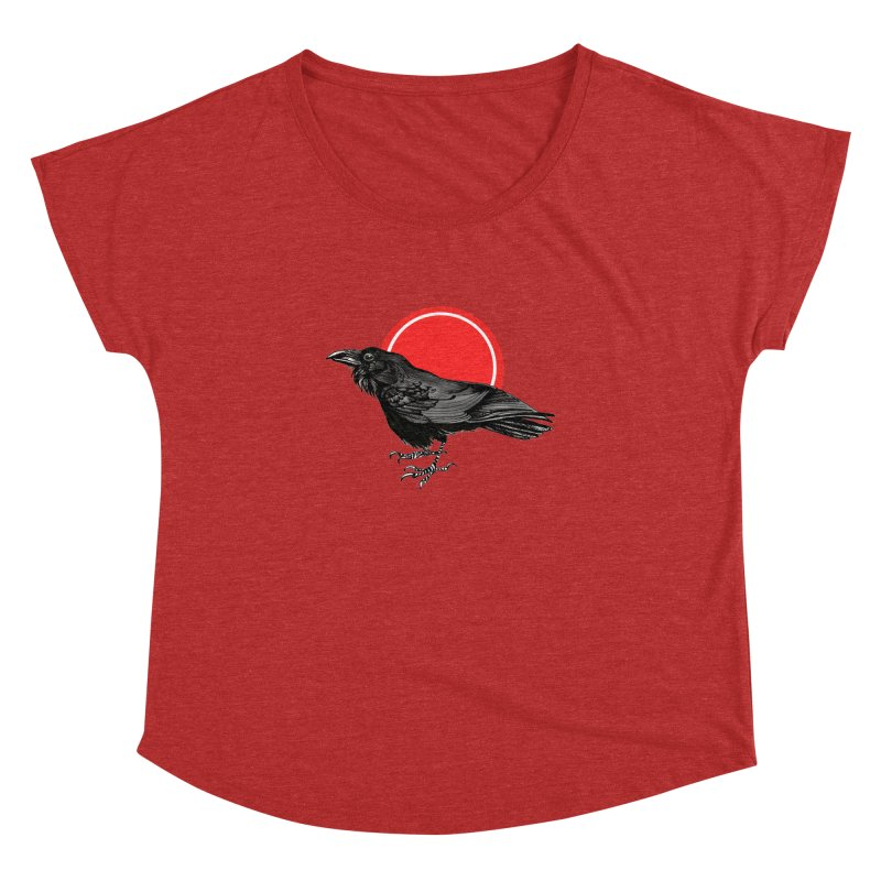 Raven Women's Dolman Scoop Neck by NIKARNOLDI