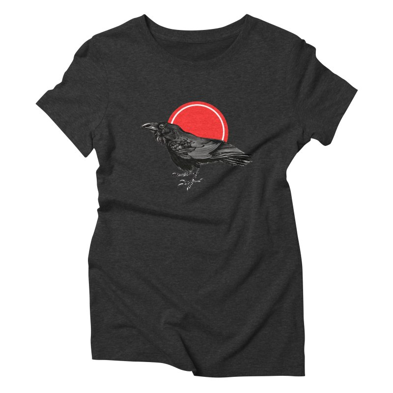 Raven Women's Triblend T-Shirt by NIKARNOLDI.art