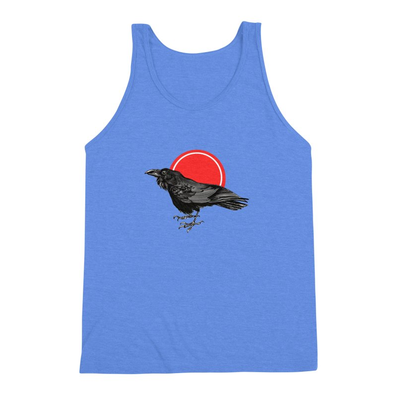 Raven Men's Triblend Tank by NIKARNOLDI.art