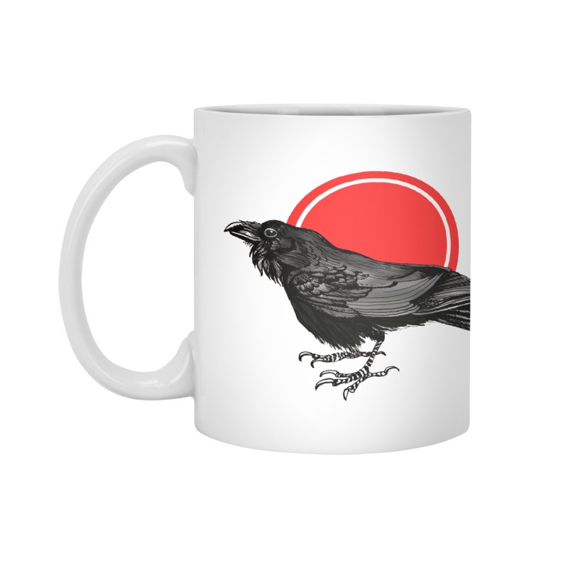 Raven Accessories Mug by NIKARNOLDI