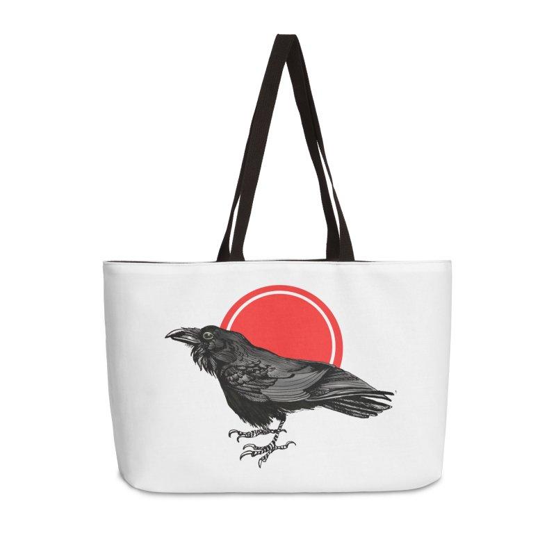 Raven Accessories Weekender Bag Bag by NIKARNOLDI