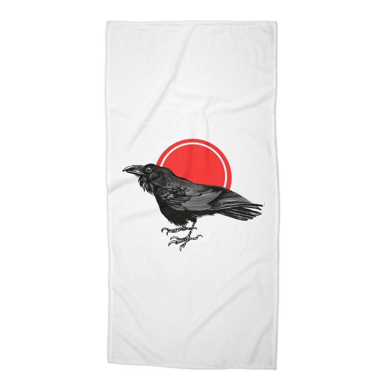 Raven Accessories Beach Towel by NIKARNOLDI